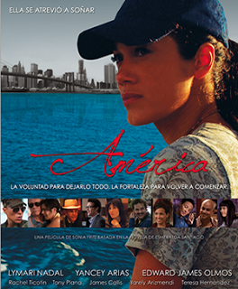 Figure 3: film poster América (http://www.tinseltine.com/2013_04_01_archive.html)
