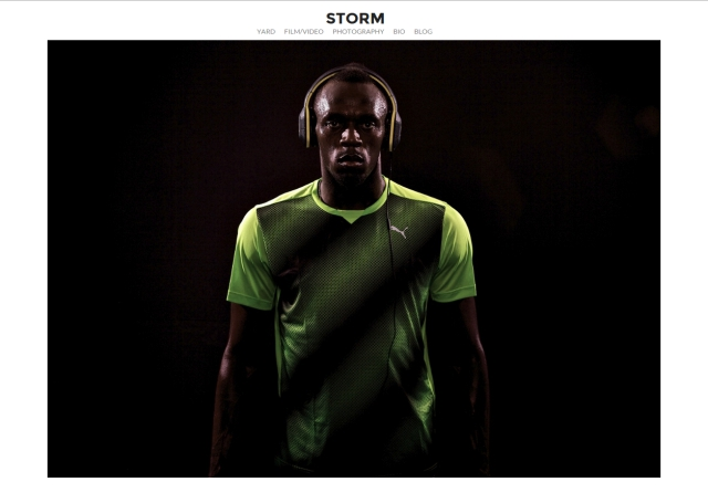 Web - 20 Website Usain Bolt for Soul Electronics