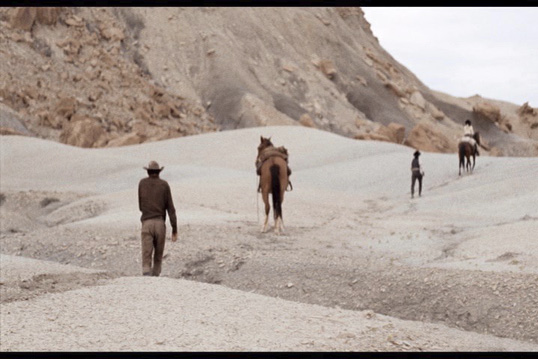 Figure 5: The Shooting-walking across desolate terrain