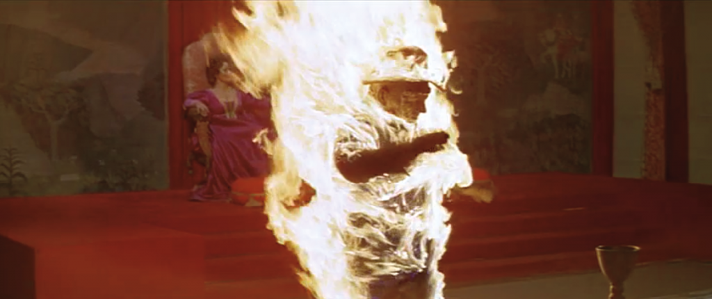 Figure 1. Westworld: the burning android.