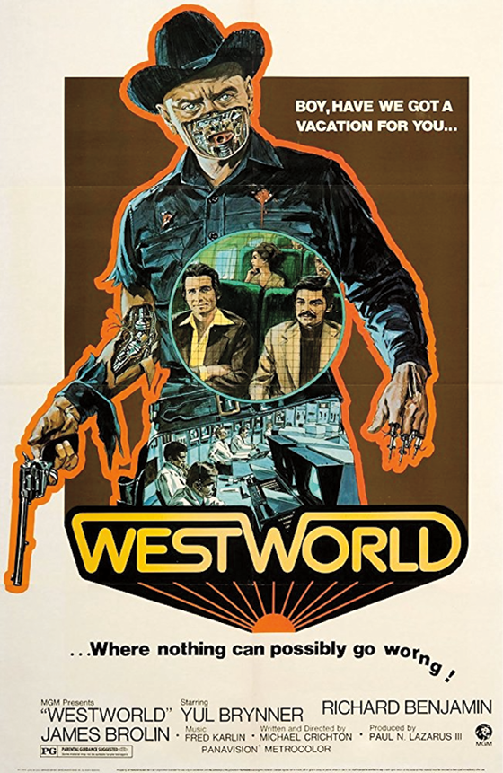 Figure 2. Theatrical release poster for Westworld (1973). Source: The Official Site of Michael Crichton.