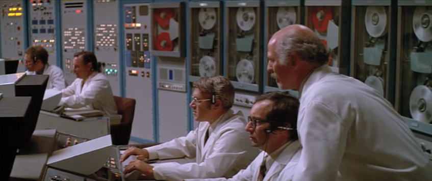Figure 6. The computer control room in Westworld.
