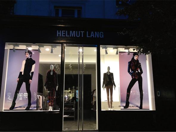 Figure 5 Helmut Lang boutique in Westbourne Grove, London (photo: S. Ingram)