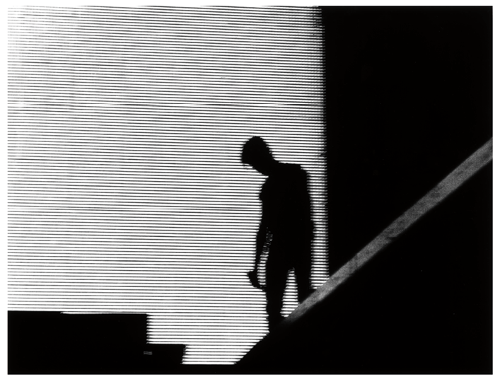 "Figure 7 One of the images from Stages that Hedi Slimane republished on the occasion of Bowie's death. (""Hedi Slimane's Tribute to David Bowie"")"