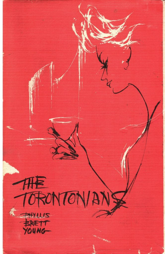Fig. 1 Cover of the 1960 Canadian version of The Torontonians